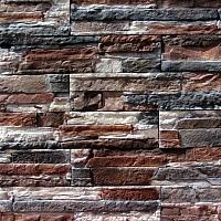 Декоративный камень Royal Legend Афины бежево-коричневый с серым 22-189 (375x85х5-12) -