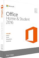 Пакет офисных программ Microsoft Office for Mac Home Student 2016 (GZA-00665) -