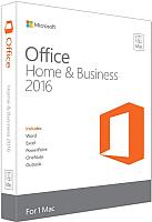 Пакет офисных программ Microsoft Office for Mac Home Business 1PK 2016 (W6F-00652) -