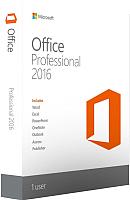 Пакет офисных программ Microsoft Office Professional 2016 (269-16801) -