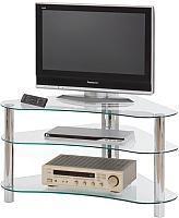Стойка для ТВ/аппаратуры Halmar RTV-13 (стекло) -