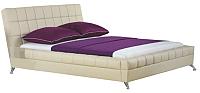Двуспальная кровать Halmar Bonita (бежевый) -