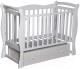 Детская кроватка Антел Северянка-1 (белый) -