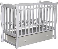 Детская кроватка Антел Северянка-2 (белый) -