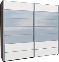 Шкаф Мебель-Неман Николь МН-020-03С (белый глянец) -
