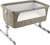 Детская кроватка Chicco NEXT2ME (Dove Grey) -