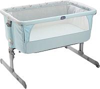 Детская кроватка Chicco NEXT2ME (Sky) -
