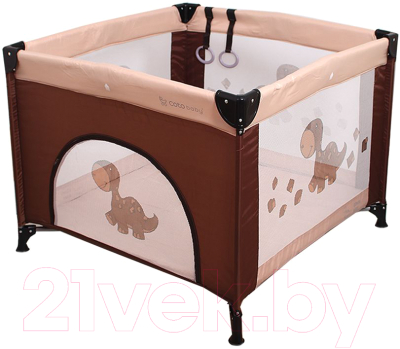 Игровой манеж Coto baby Conti (11/коричневый)