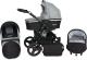 Детская универсальная коляска Genesis Fashion 3 в 1 (черный/серый) -