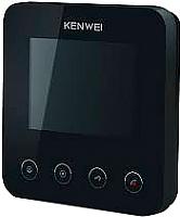 Видеодомофон Kenwei KW-E401C (черный) -