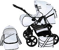 Детская универсальная коляска Genesis Cross (белый) -