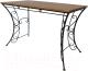 Стол садовый AMC 6.1(11) 120x60 (черный) -