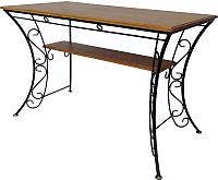 Стол садовый AMC 6.1(21) 120x60 (черный) -