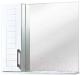 Шкаф с зеркалом для ванной Акваль Анна 70 (АННА.04.75.00.L) -