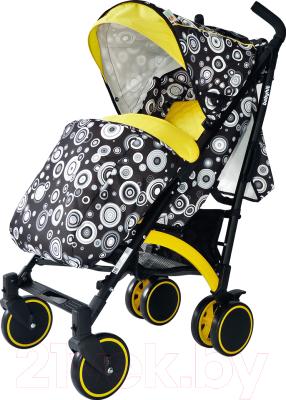 Детская прогулочная коляска Babyhit Rainbow 2017 (Black-Yellow)