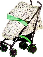 Детская прогулочная коляска Babyhit Rainbow 2017 (Circles Green) -