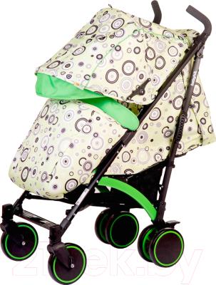 Детская прогулочная коляска Babyhit Rainbow 2017 (Circles Green)