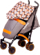 Детская прогулочная коляска Babyhit Rainbow 2017 (Orange Diamond) -