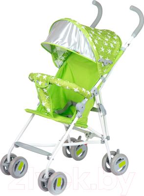 Детская прогулочная коляска Babyhit Weeny (Green Stars)