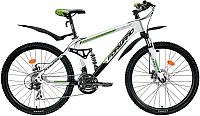Велосипед Forward Terra 2.0 Disc 2014 (16, белый/черный) -
