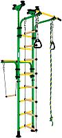 Детский спортивный комплекс Romana Олимпиец 1 ДСКМ-2-8.06.Т1.490.01-22 (зеленый/желтый) -