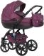 Детская универсальная коляска Riko Brano Natural 2 в 1 (03/purple) -