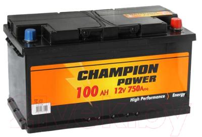 Автомобильный аккумулятор Champion Power 100 R CP100.0 (100 А/ч)