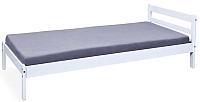 Односпальная кровать Halmar Finy (белый) -