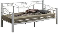 Односпальная кровать Signal Kenia (белый) -