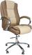 Кресло офисное Everprof Klio PU (бежевый) -