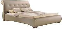 Двуспальная кровать Signal Mokka (капучино) -