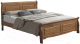 Двуспальная кровать Signal Boston 160x200 (дуб) -