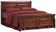 Двуспальная кровать Signal Boston 2 OS 180x200 -
