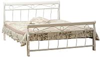 Двуспальная кровать Signal Venecja 180x200 (белый) -