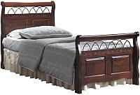 Односпальная кровать Signal Verona 90x200 (античная черешня) -