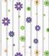 Текстильная шторка для ванной Frap F8851 -