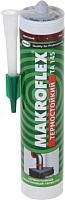 Герметик силиконовый Makroflex TA 145 термостойкий (300мл, красный) -