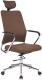 Кресло офисное Halmar Finos (коричневый) -