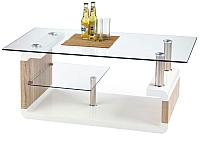 Журнальный столик Halmar Carissa (белый/дуб сонома) -