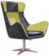 Кресло Halmar Atlas (черный/зеленый) -