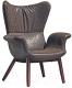Кресло Halmar Pegas-W (шоколадный) -