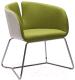 Кресло Halmar Pivot (белый/зеленый) -