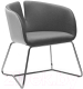 Кресло Halmar Pivot (белый/серый) -