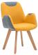 Кресло Halmar Safari (горчичный/серый) -