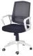 Кресло офисное Halmar Ascot (черно-белый) -