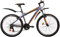 Велосипед Forward Quadro 1.0 2014 (17, серый матовый) -