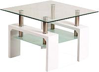 Журнальный столик Signal Lisa D Basic (белый) -
