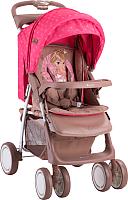 Детская прогулочная коляска Lorelli Foxy Beige&Rose Princess (10020521703A) -