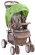 Детская прогулочная коляска Lorelli Foxy Beige&Green Lambs (10020521732A) -