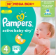 Подгузники Pampers Active Baby-Dry 4 Maxi (147шт) -